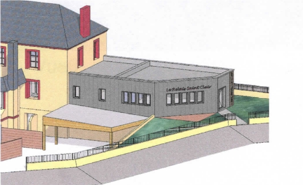 Plan de construction Relais Saint Clair